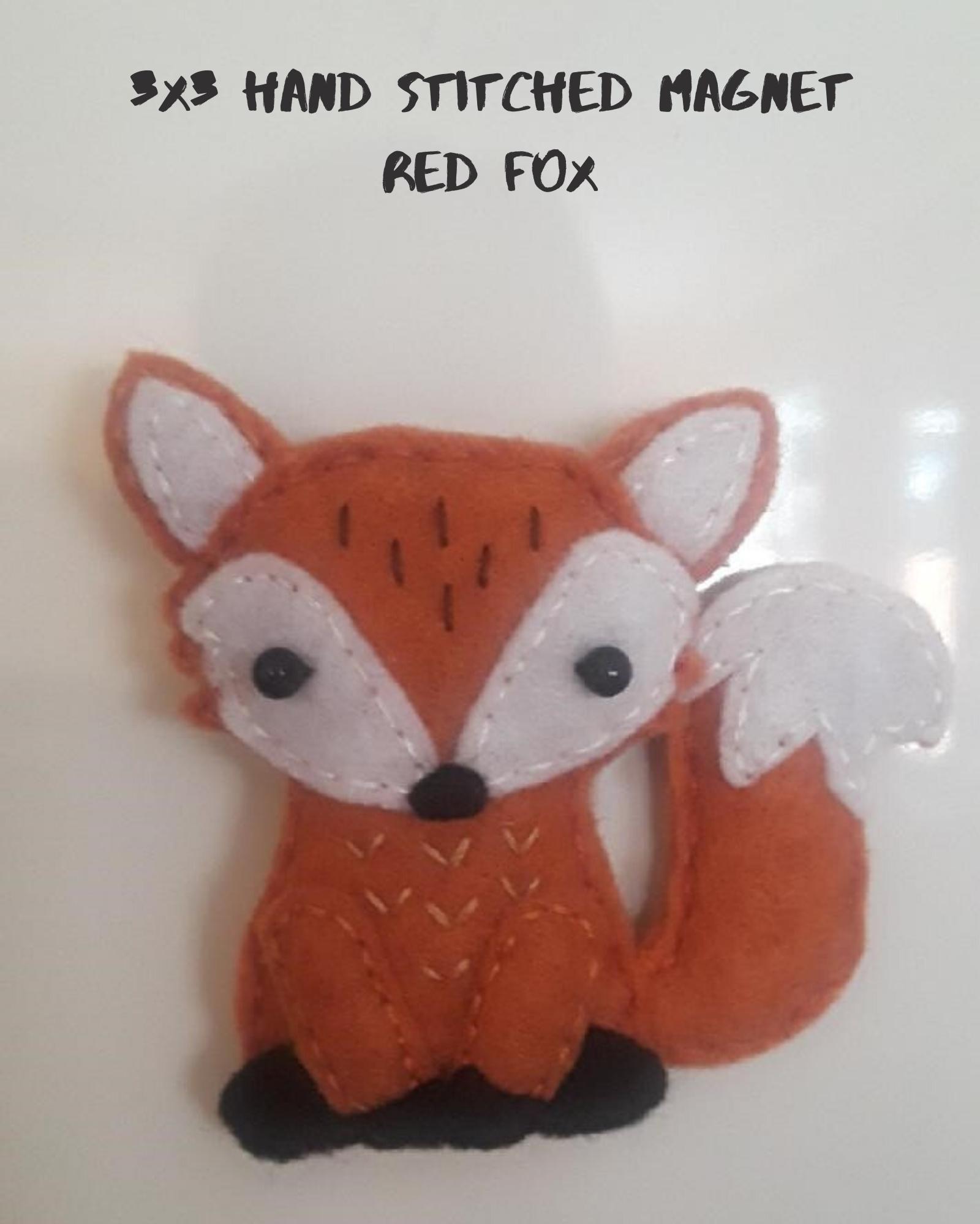 Red Fox Magnet