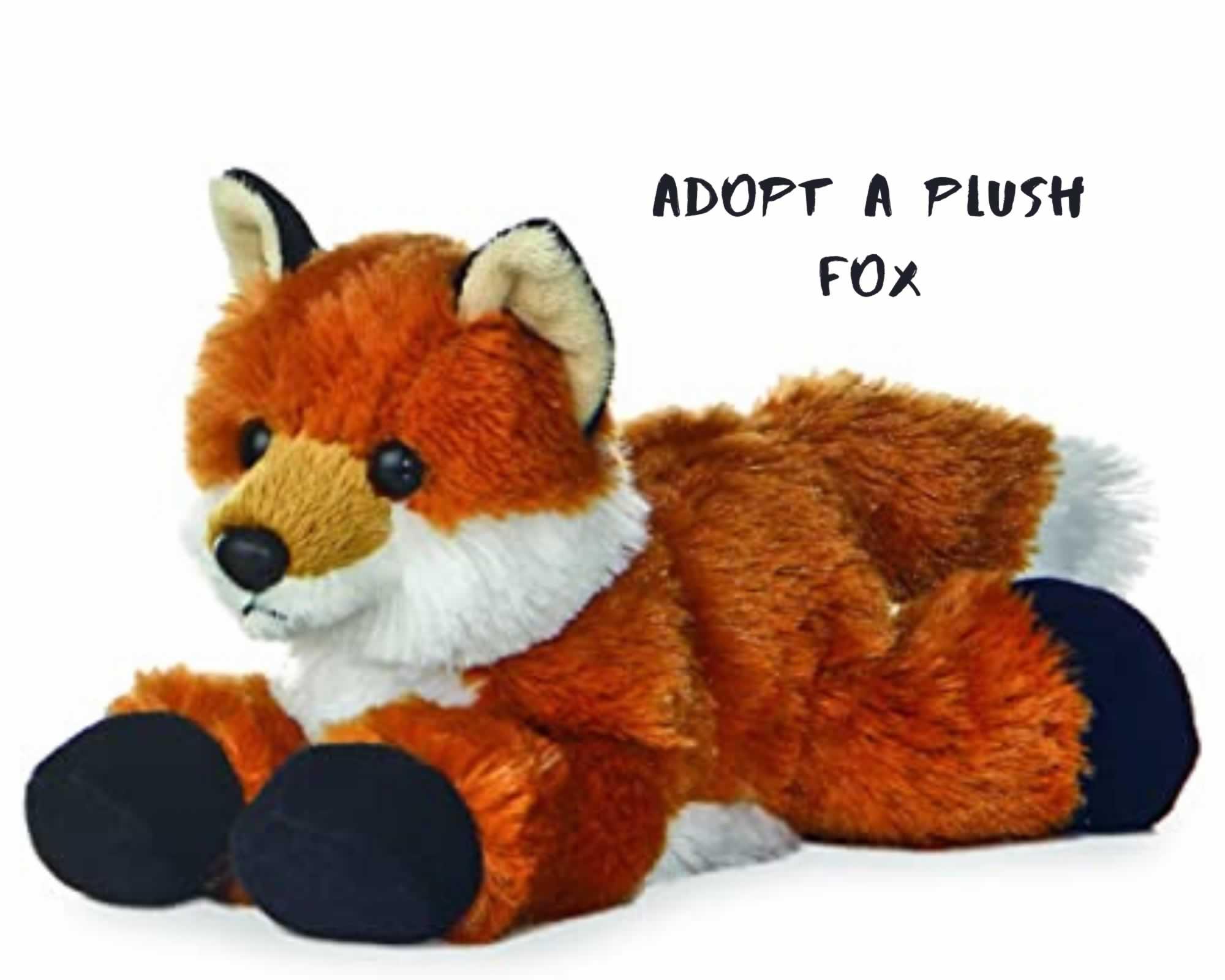 Adopt a Fox Plush