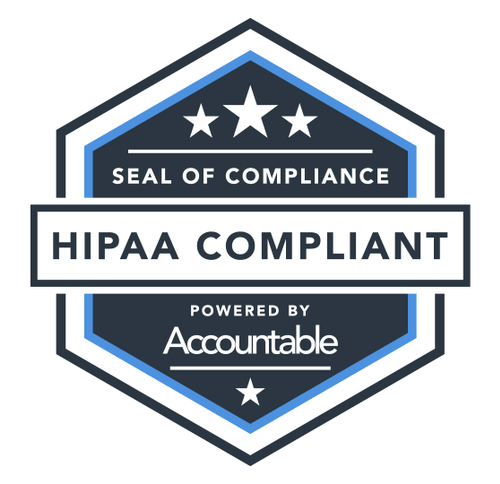 mindbloom HIPAA, HIPAA badge