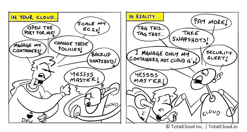 In Your Cloud: Expectations Vs. Reality