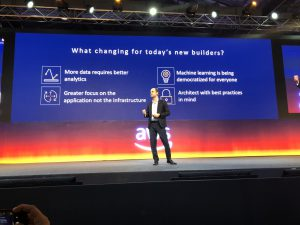 Oliver klein at AWS Summit Mumbai