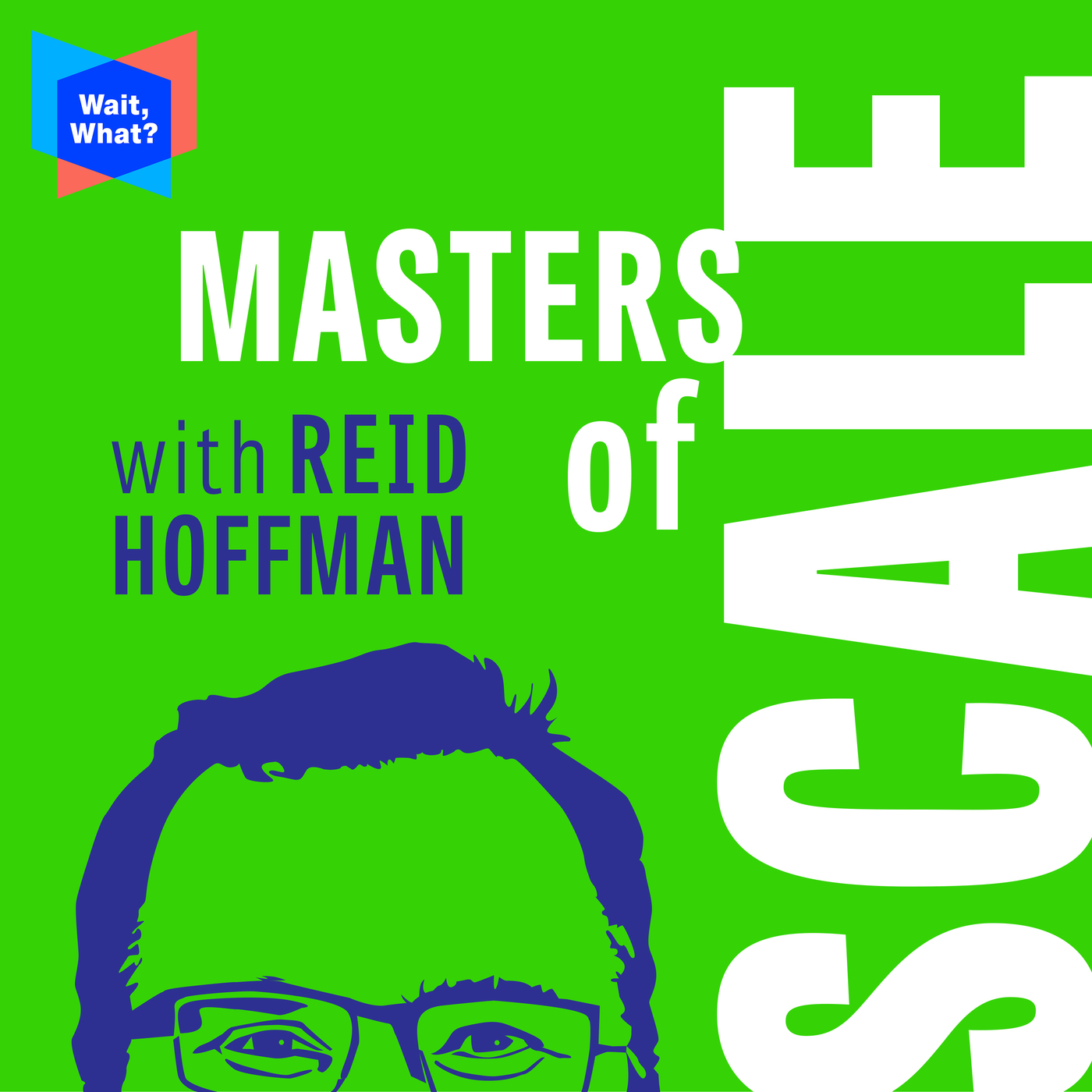 Podcast Cover of Masters of Scale with Reid Hoffman