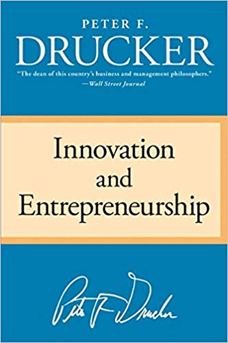 Book Cover of Innovation and Entrepreneurship