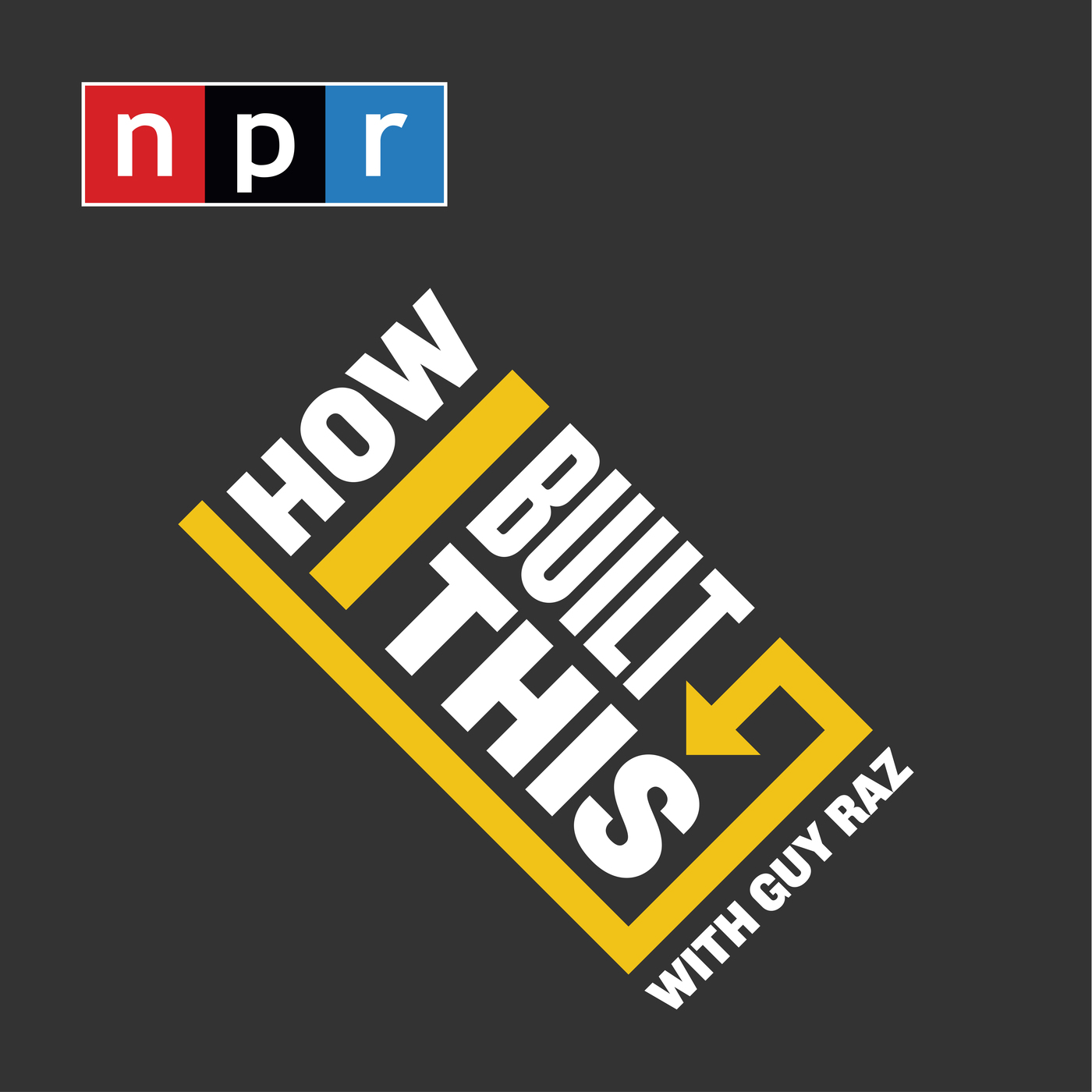 Podcast Cover of How I Built This with Guy Raz