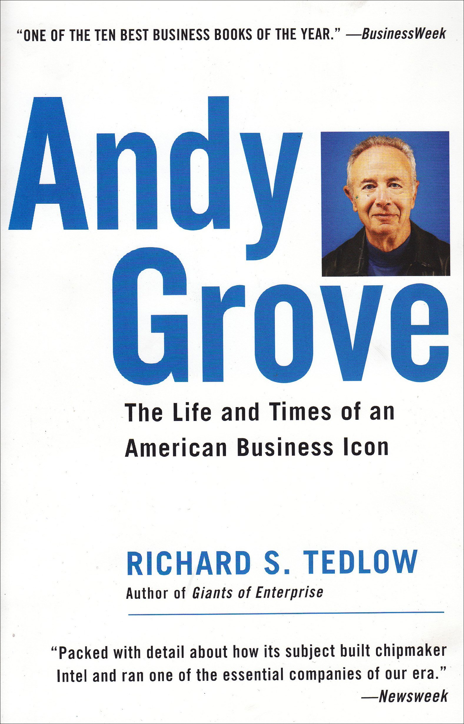 Book Cover of Andy Grove