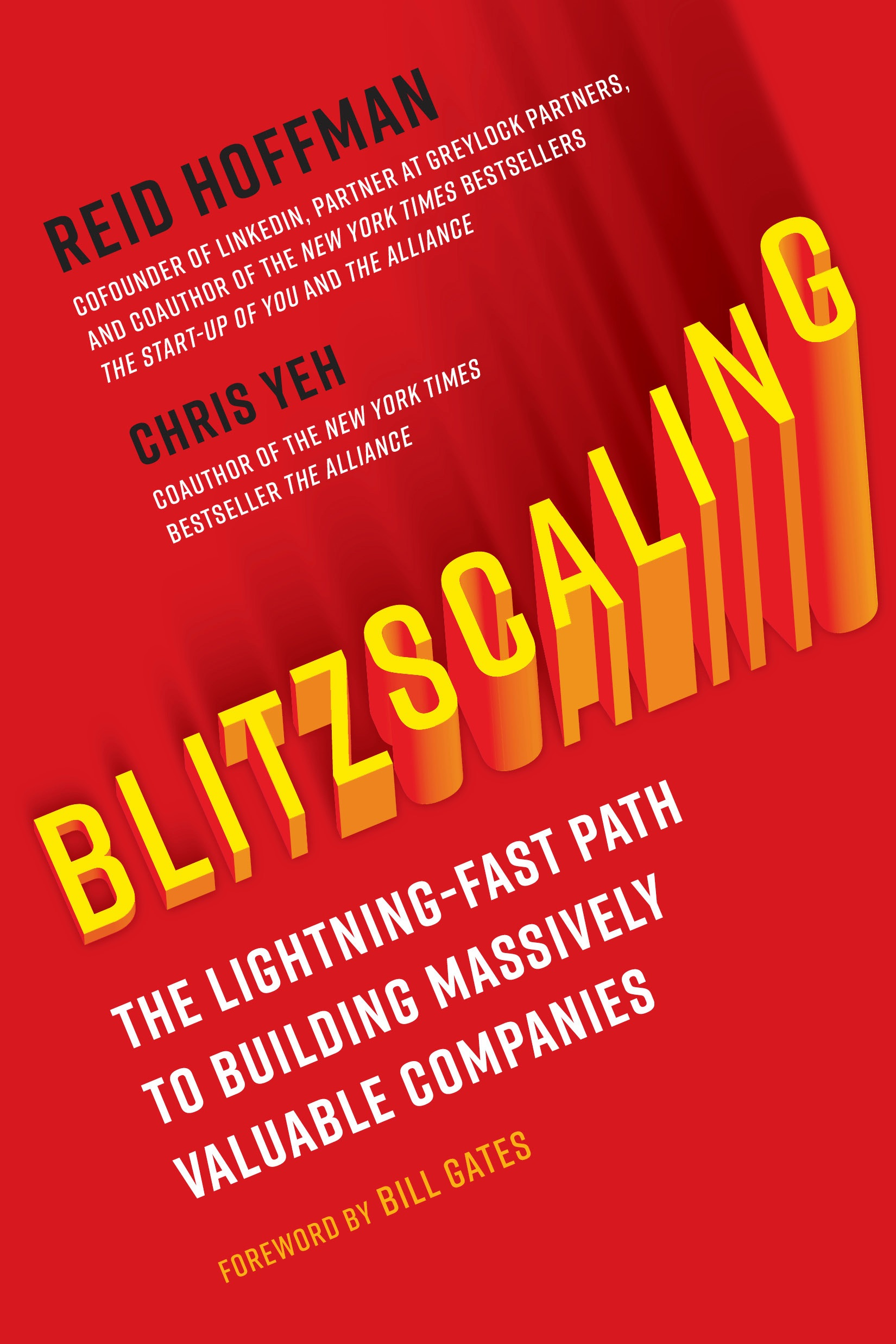 Book Cover of Blitzscaling