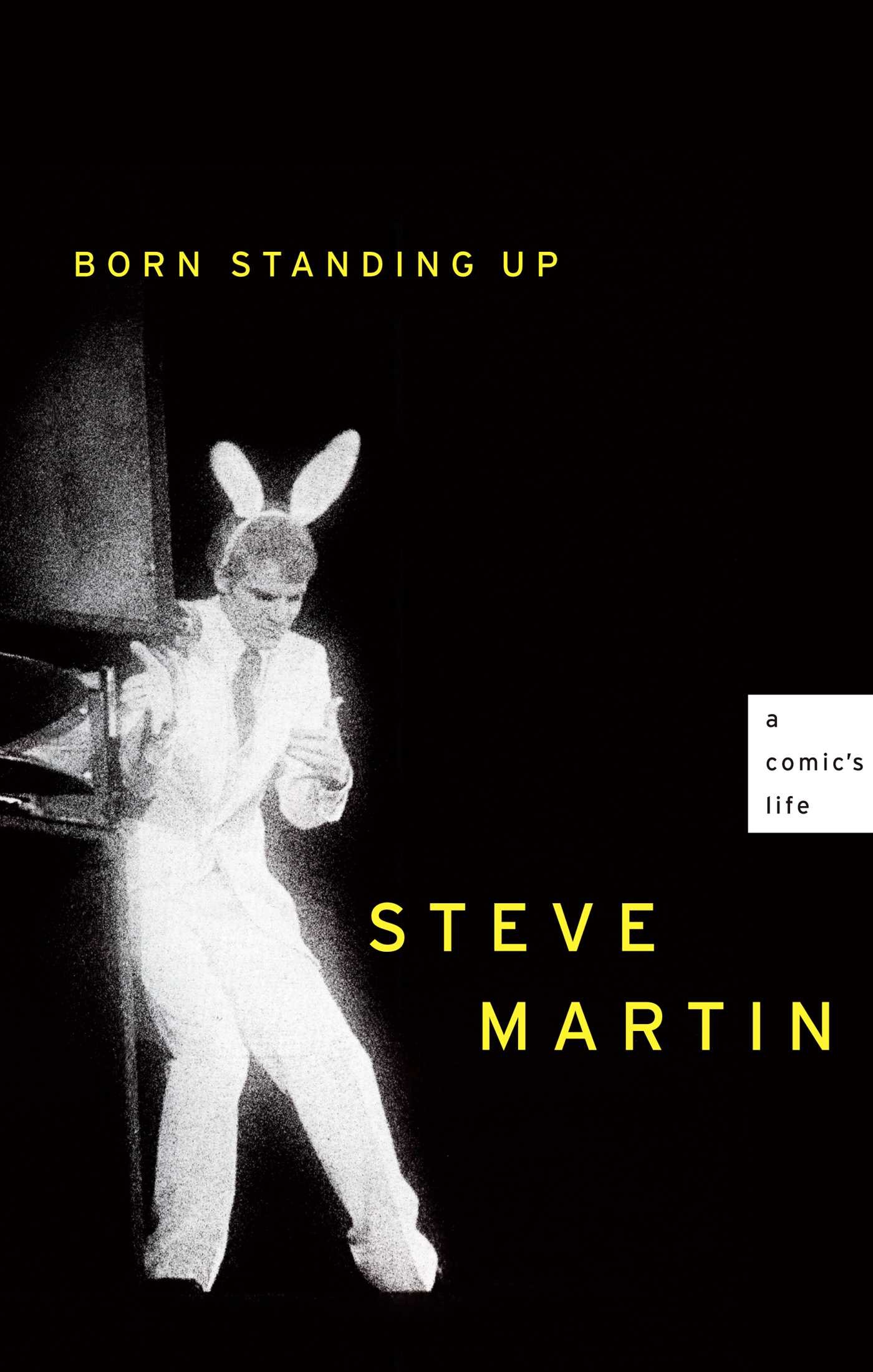 Book Cover of Born Standing Up