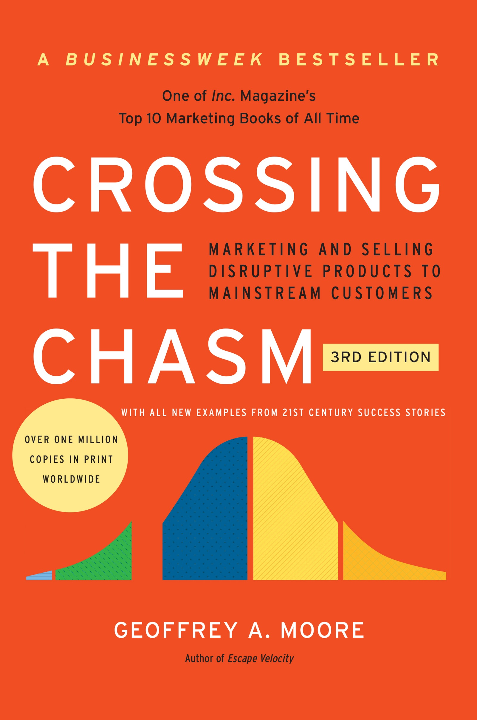 Book Cover of Crossing the Chasm