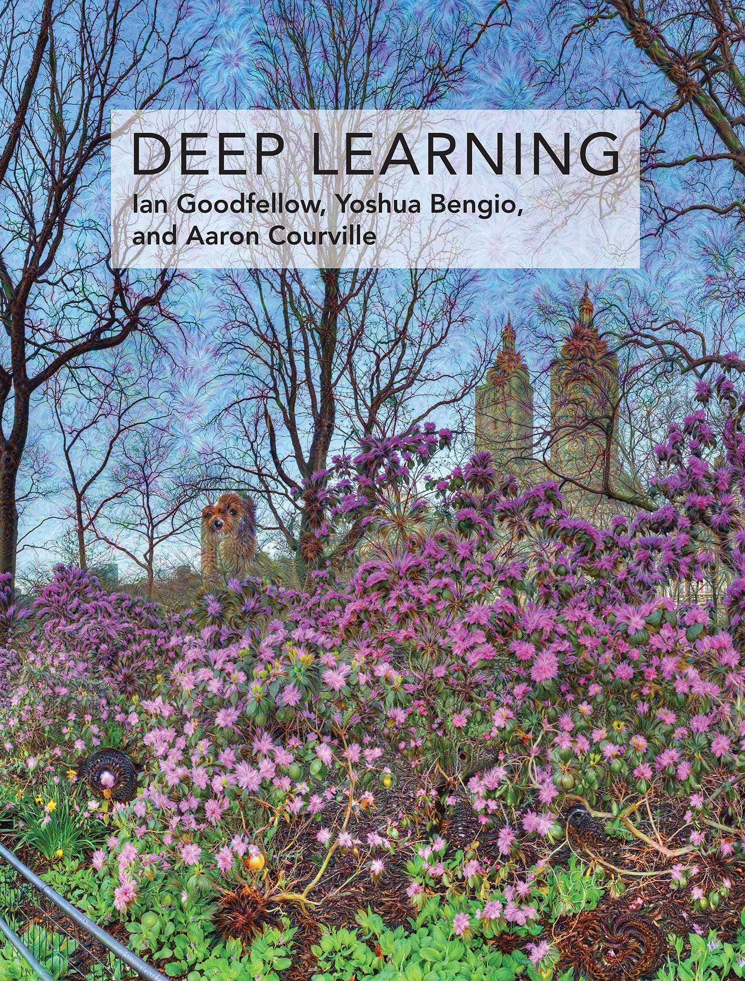 Book Cover of Deep Learning