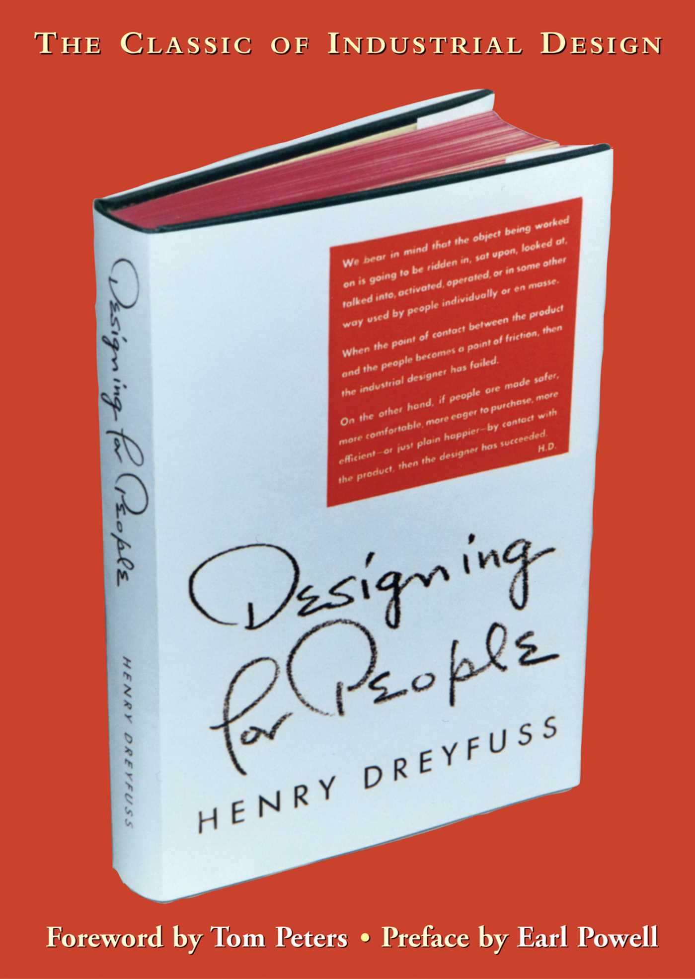 Book Cover of Designing for People