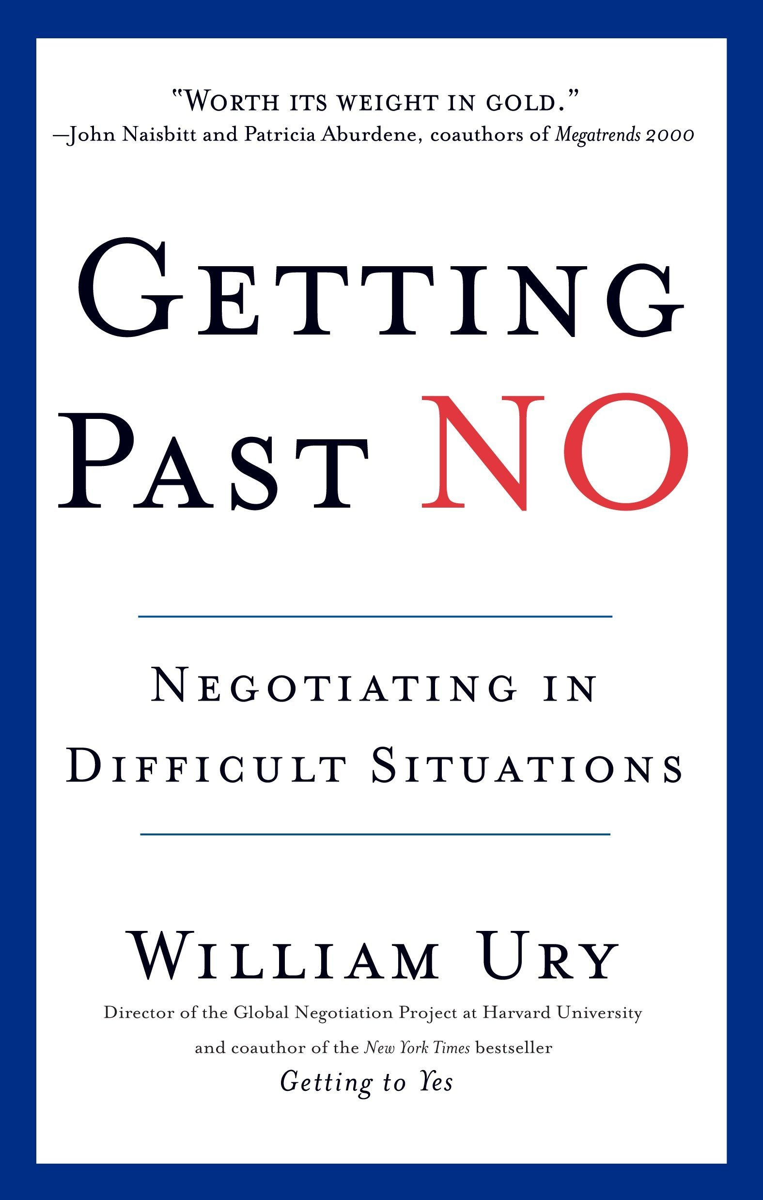 Book Cover of Getting Past No