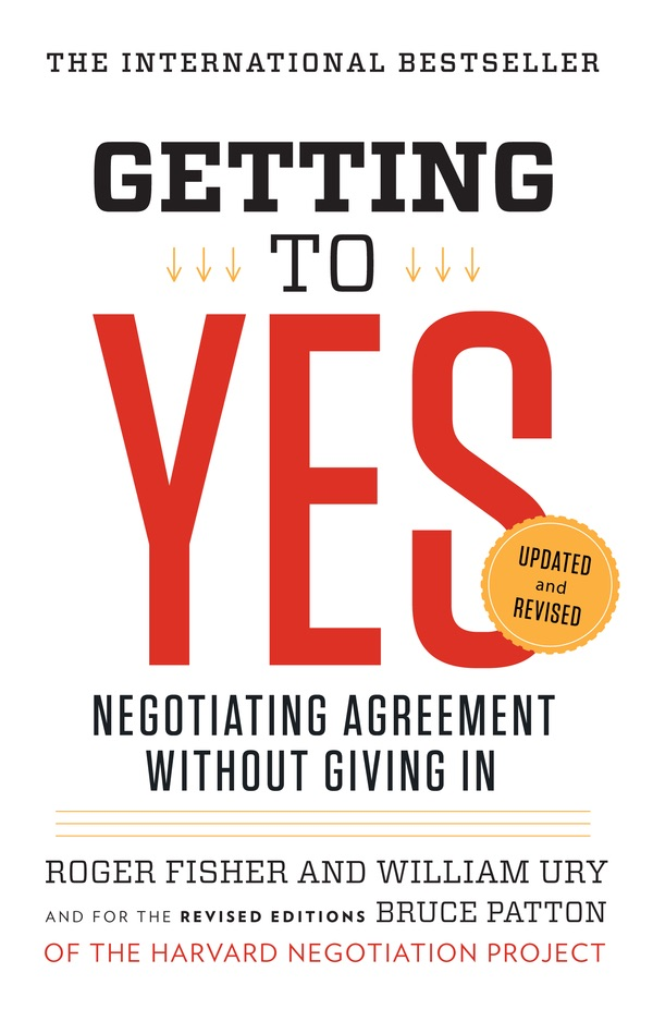 Book Cover of Getting to Yes