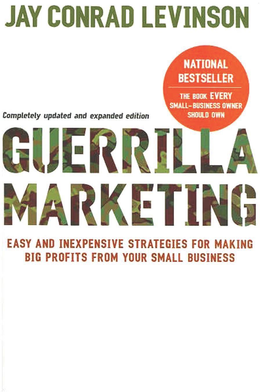 Book Cover for Guerilla Marketing