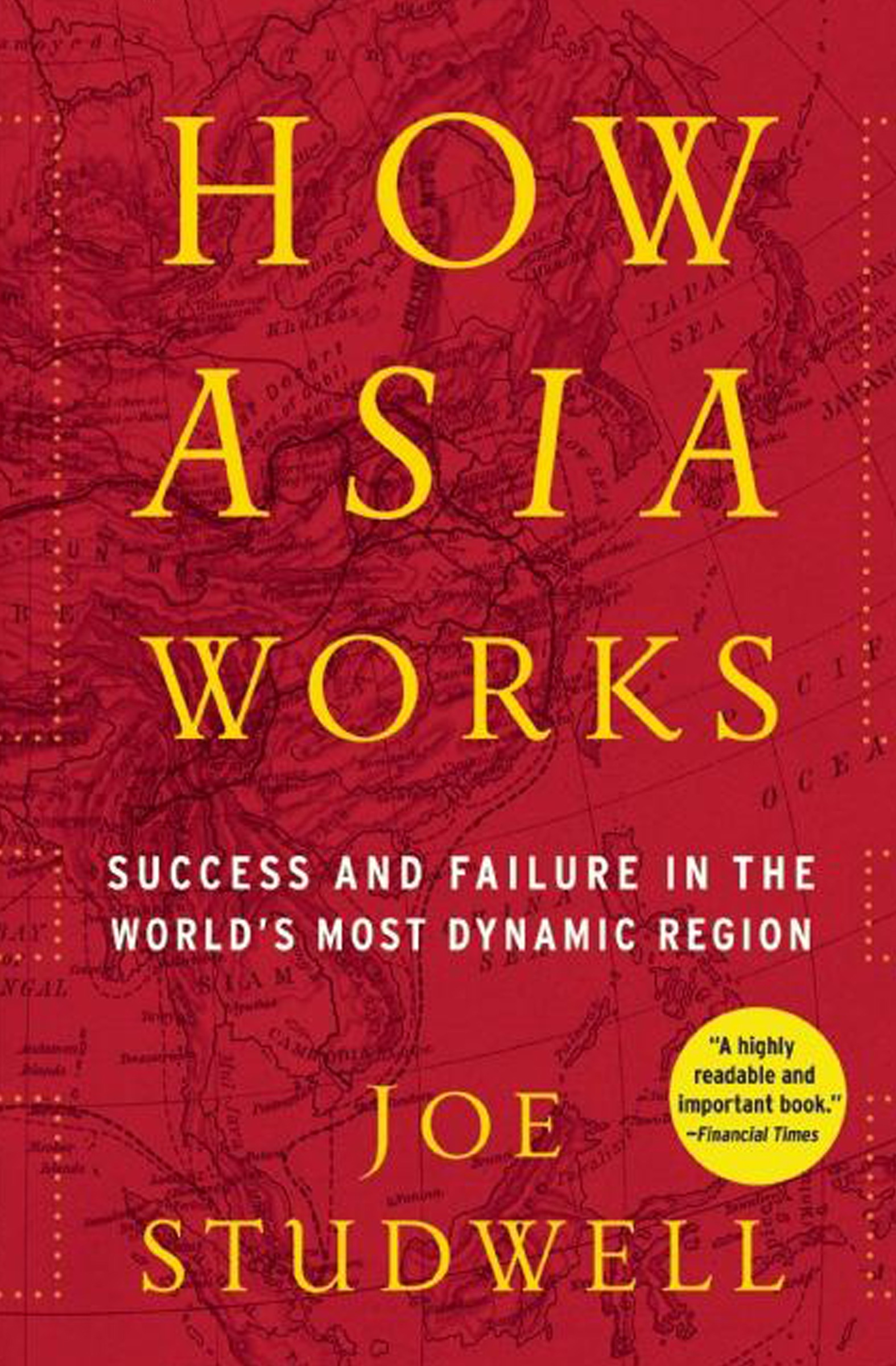 Book Cover of How Asia Works