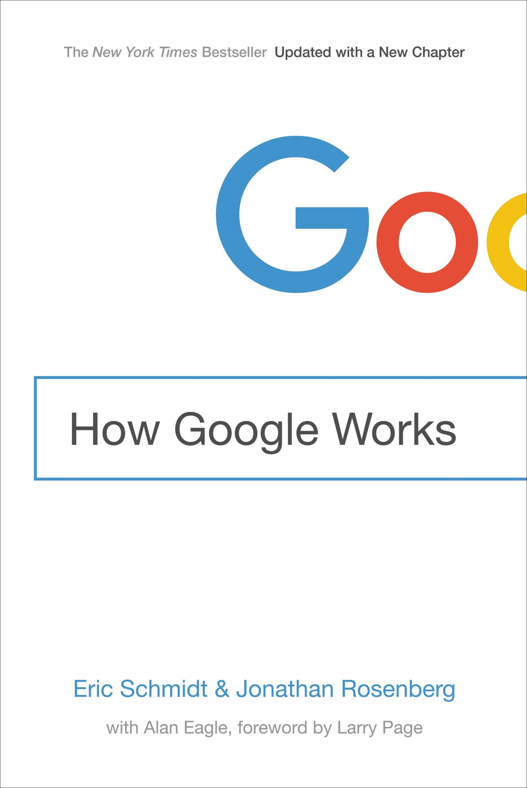 Book Cover of How Google Works