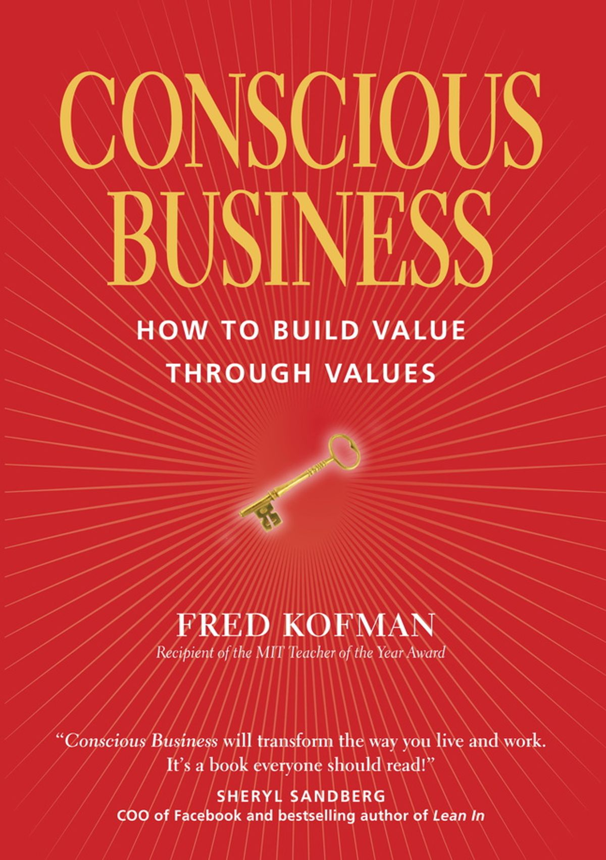 Book Cover of Conscious Business