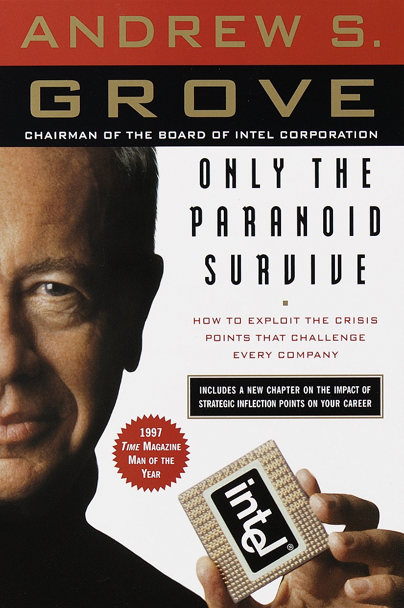 Book Cover of Only the Paranoid Survive