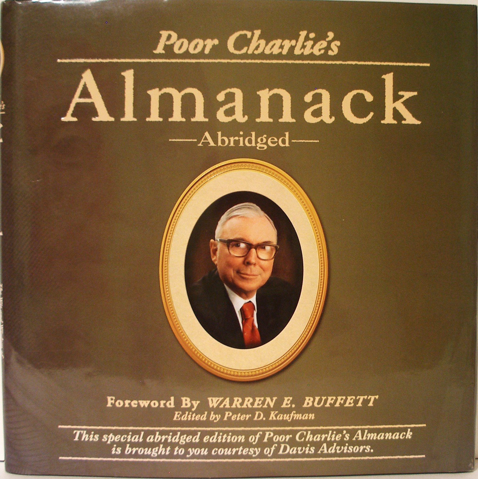 Book Cover of Poor Charlie's Almanack