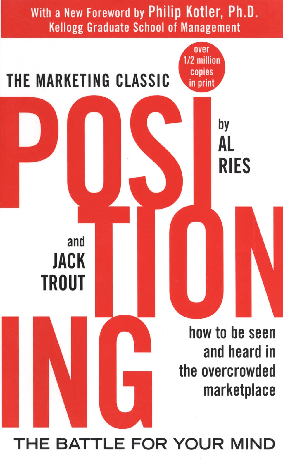 Book Cover of Positioning: The Battle for Your Mind
