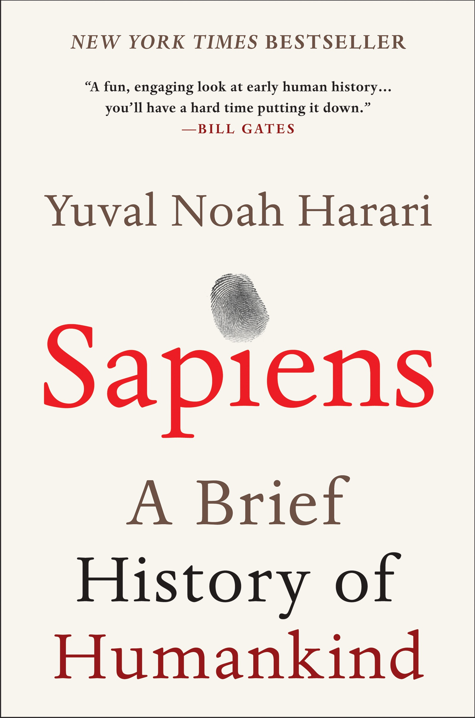 Book Cover of Sapiens