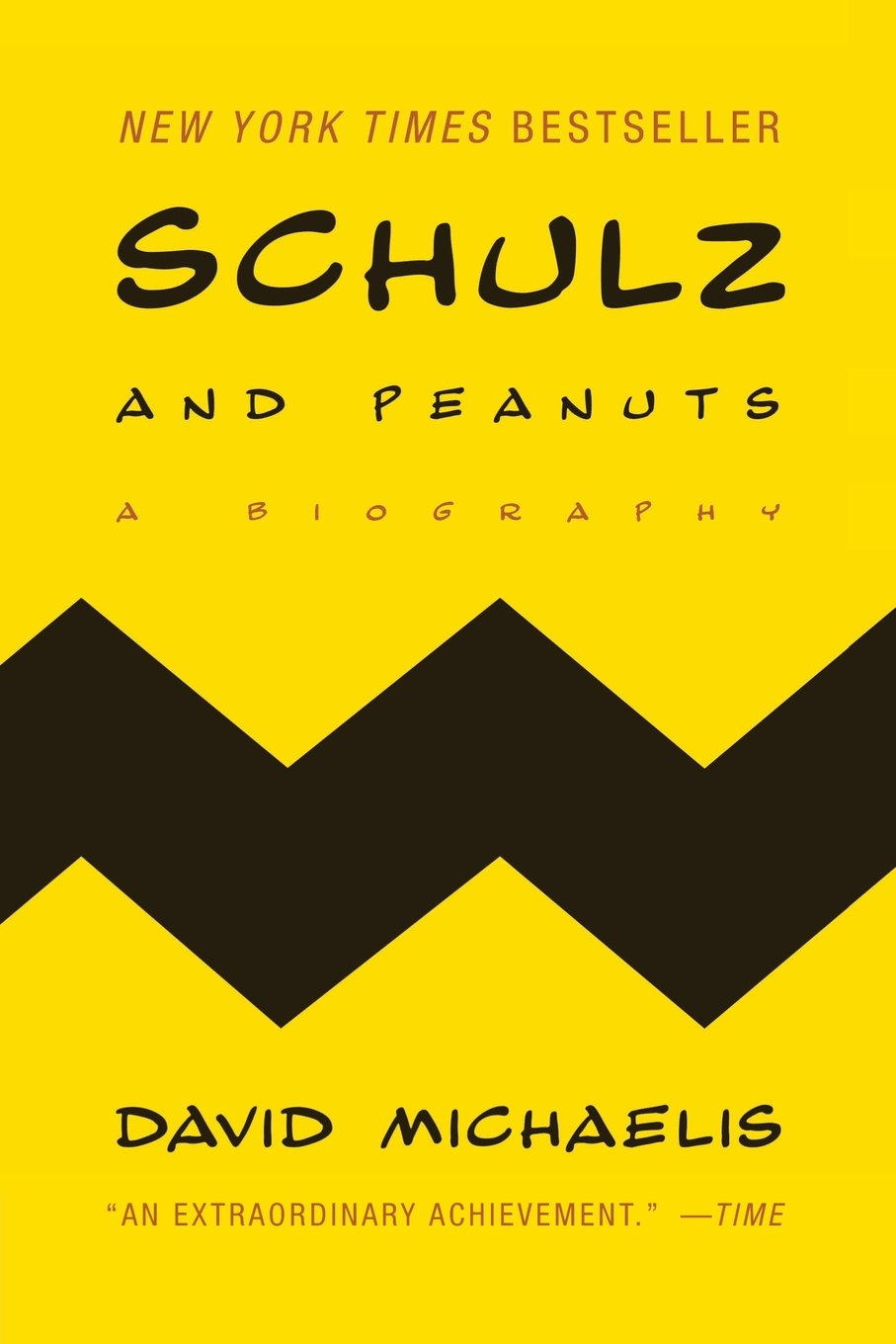 Book Cover of Schulz and Peanuts: A Biography