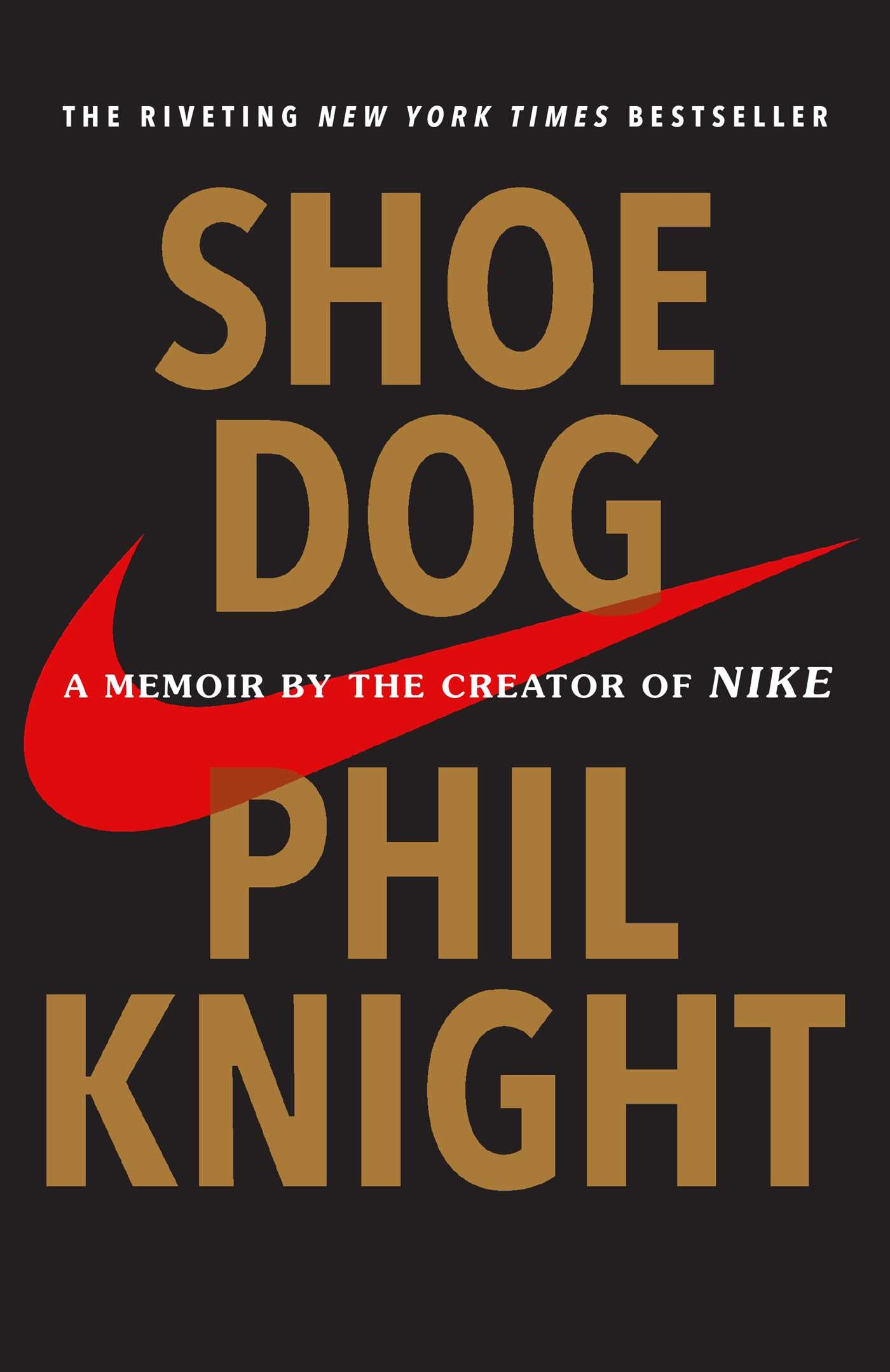 Book Cover of Shoe Dog