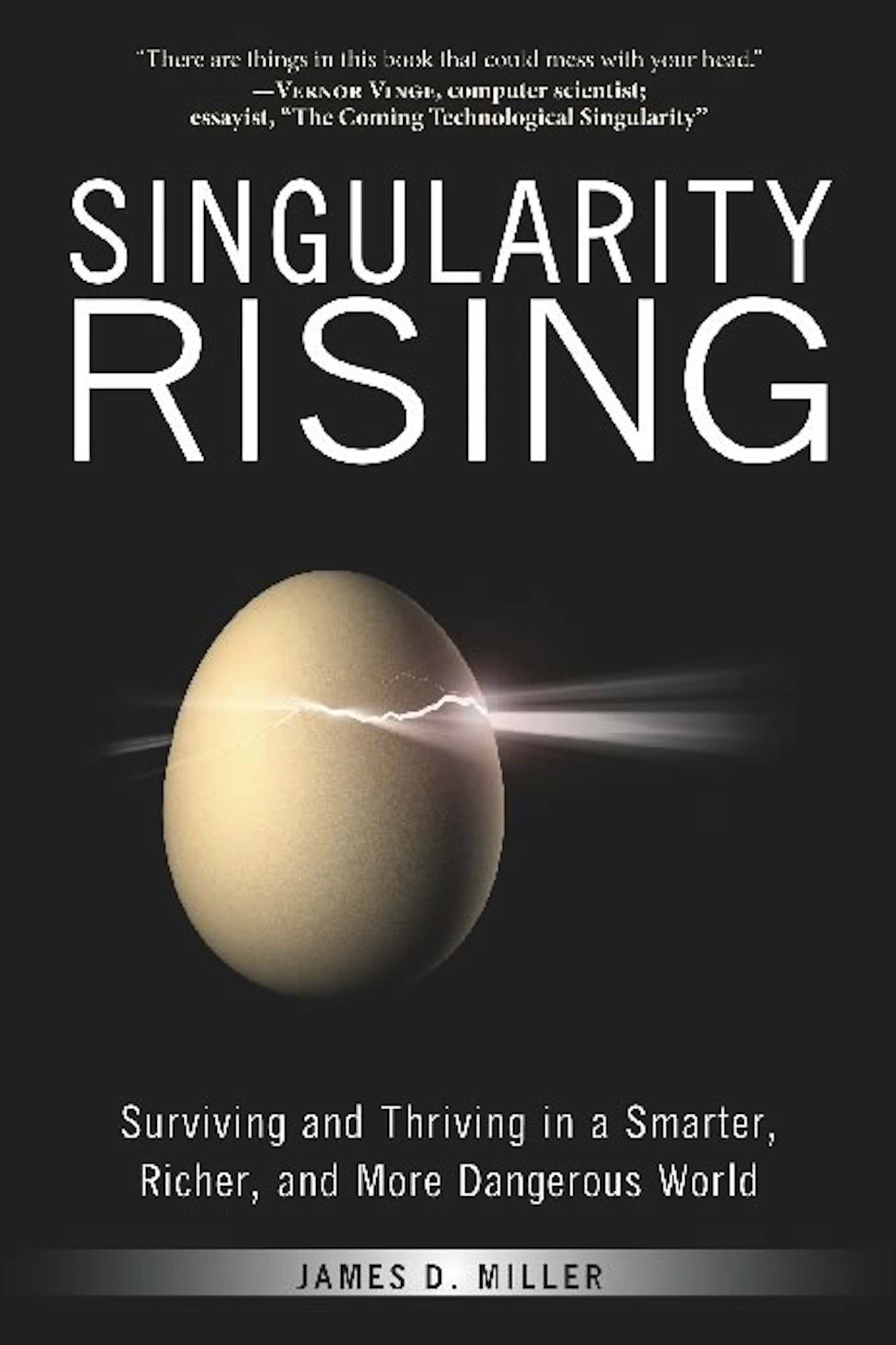 Book Cover of Singularity Rising