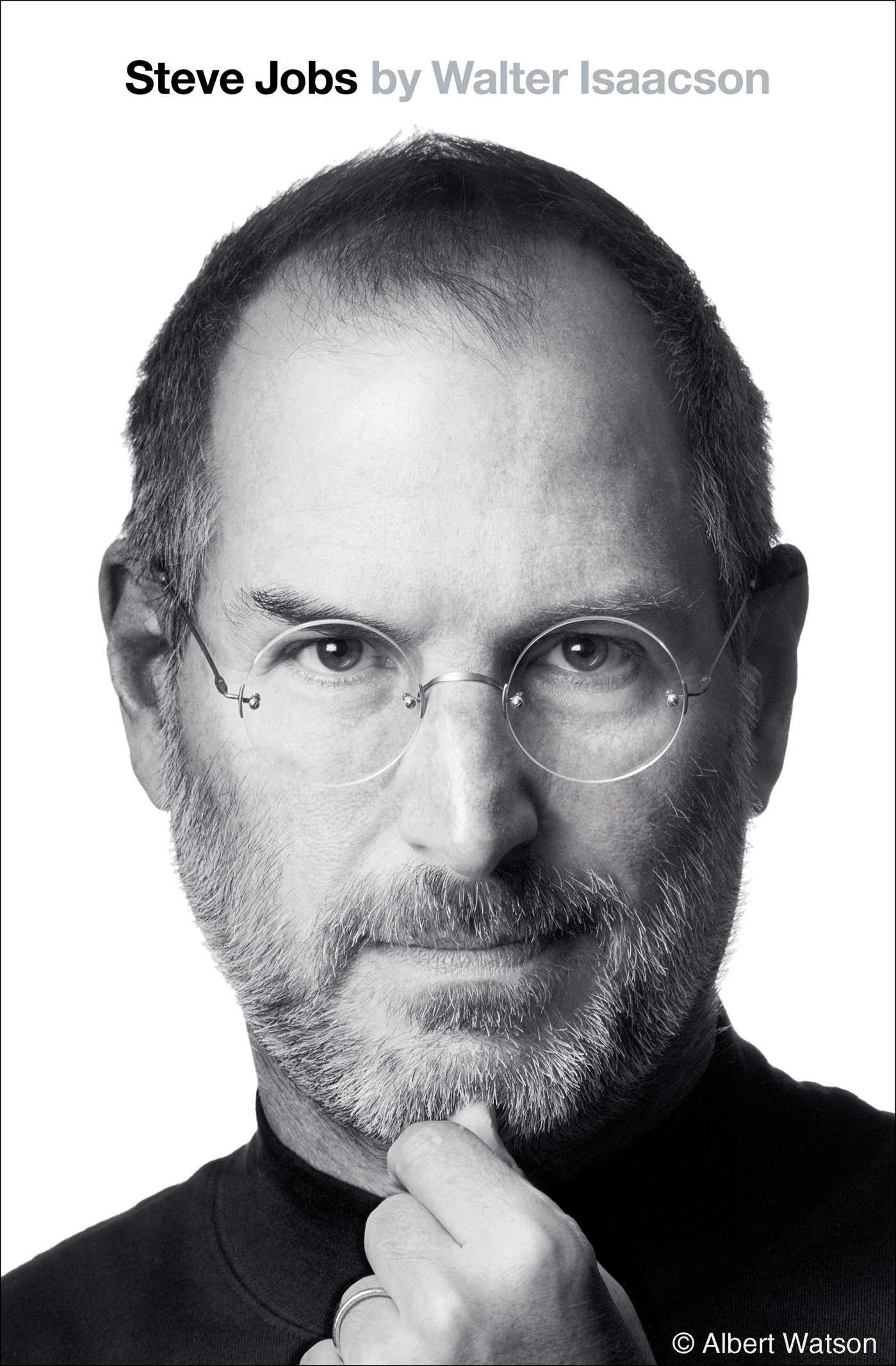 Book Cover of Steve Jobs