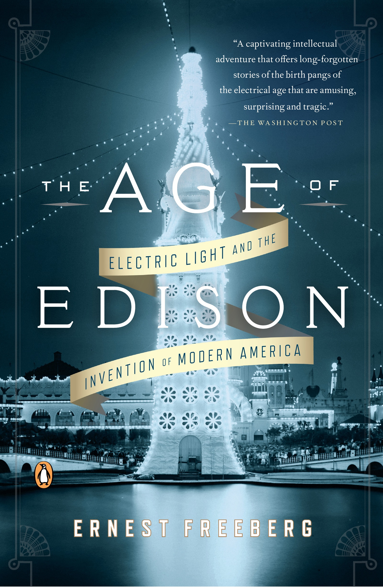 Book Cover of The Age of Edison