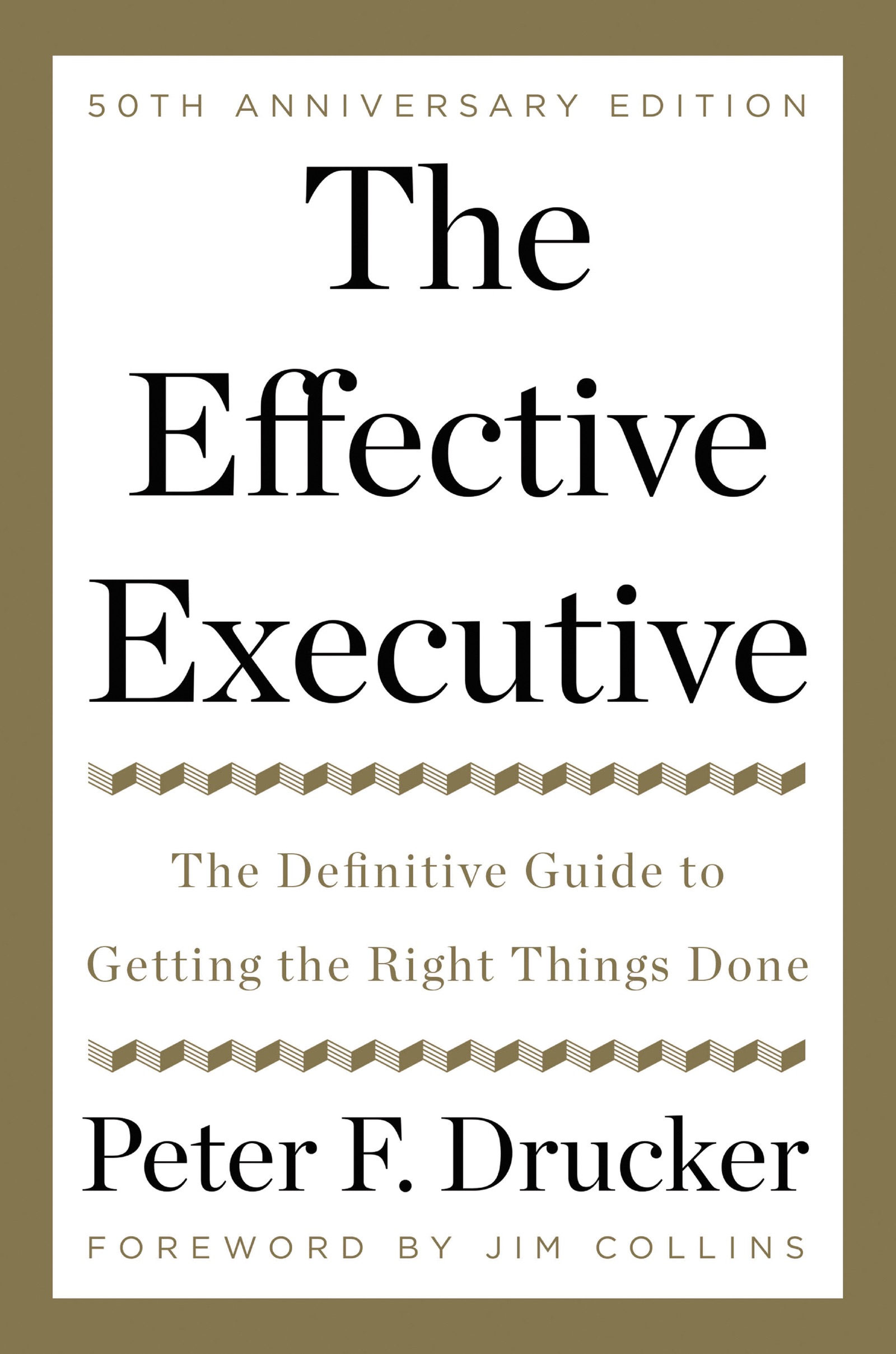 Book Cover of The Effective Executive