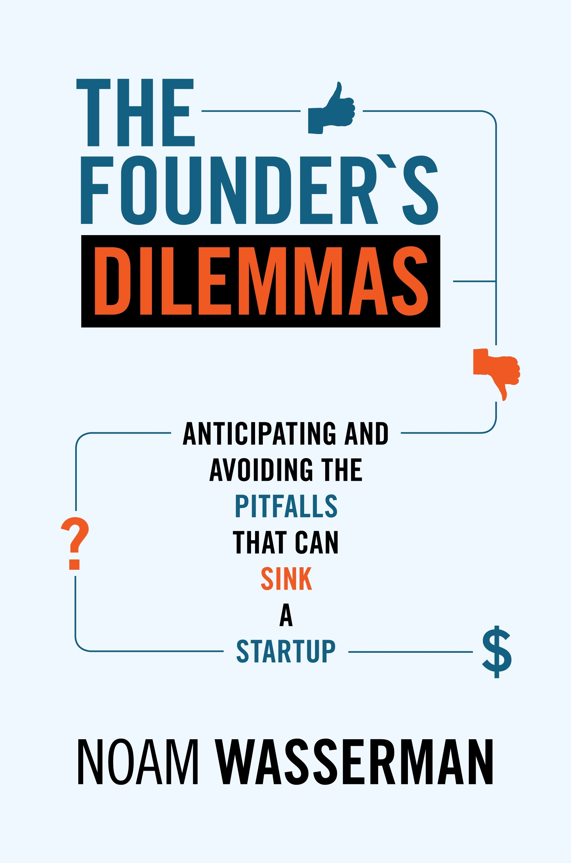Book Cover of The Founder's Dilemmas