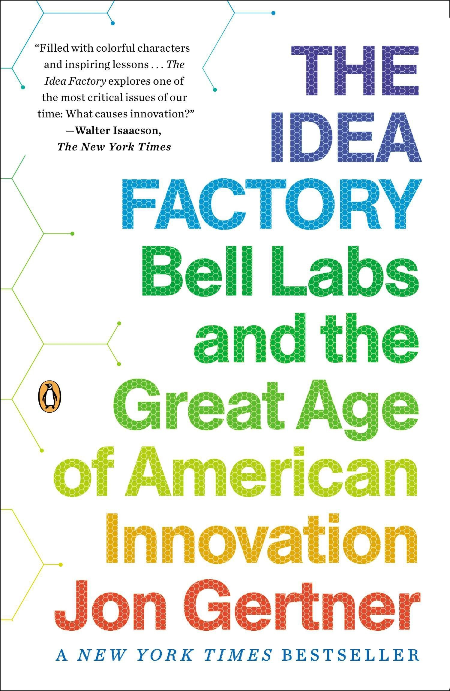 Book Cover of The Idea Factory