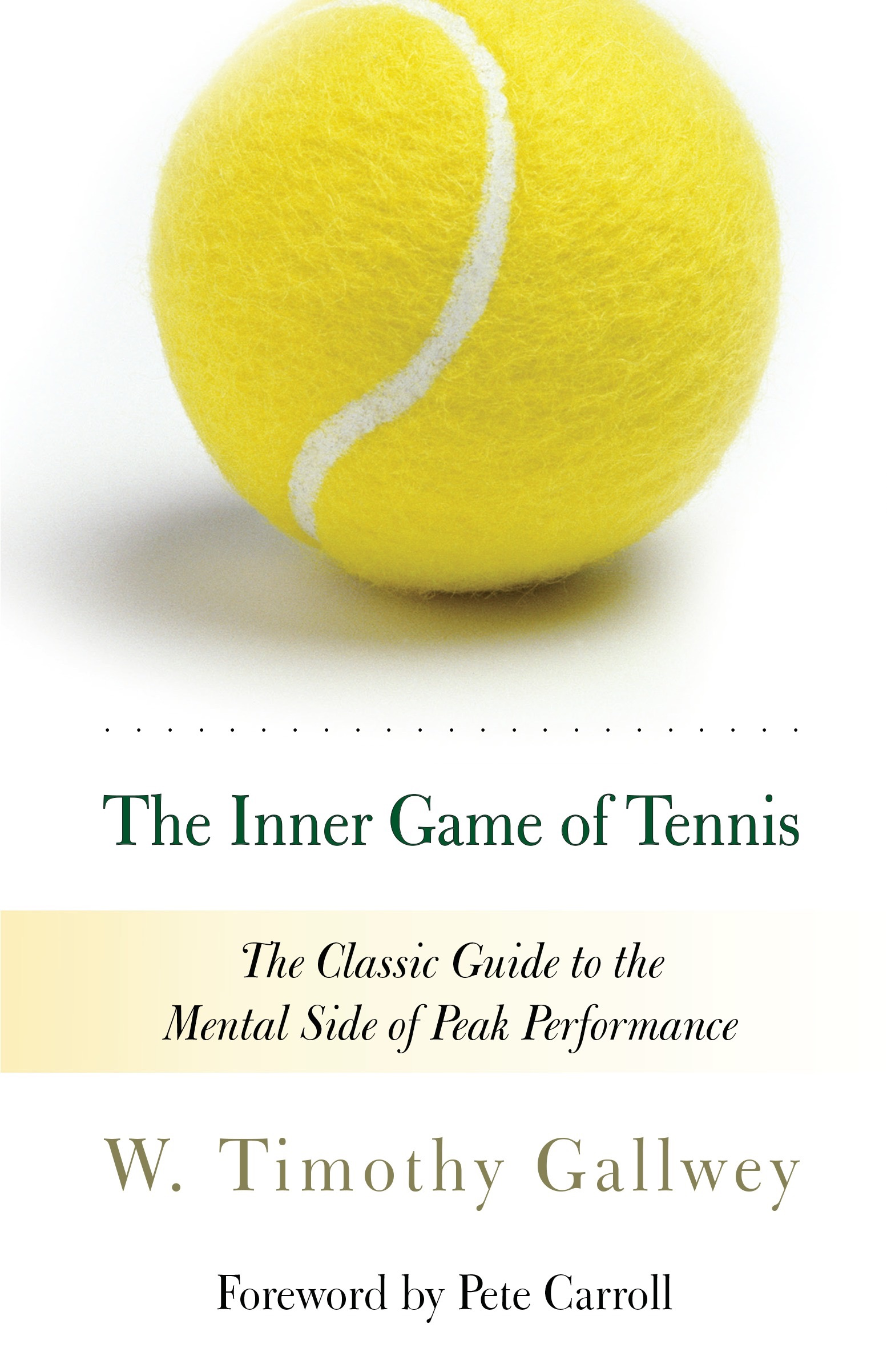 Book Cover of The Inner Game of Tennis
