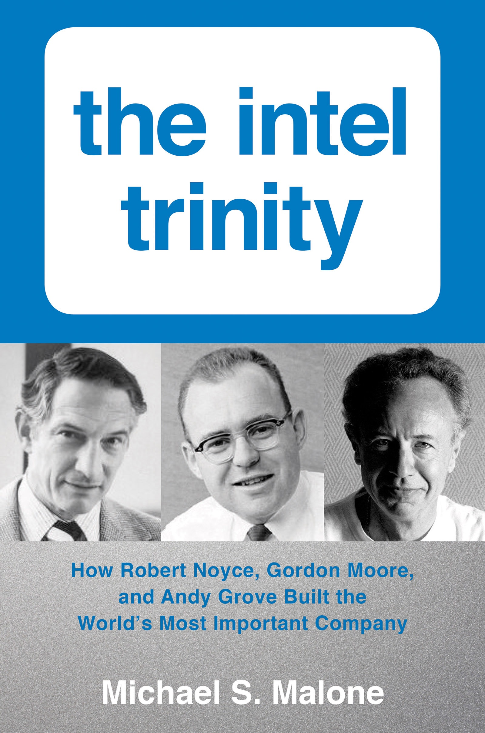 Book Cover of The Intel Trinity