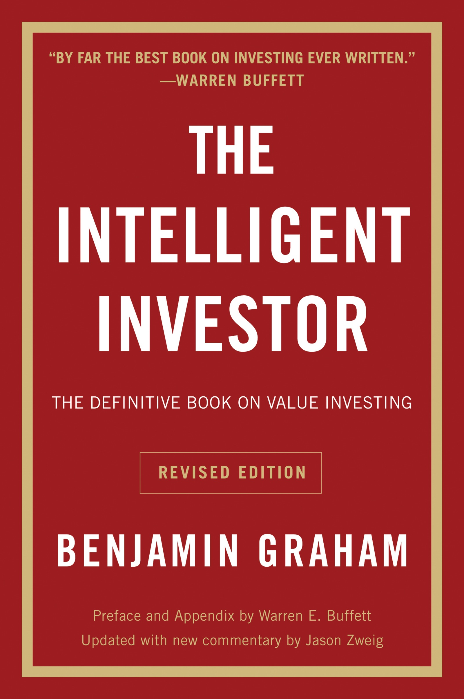 Book Cover of The Intelligent Investor