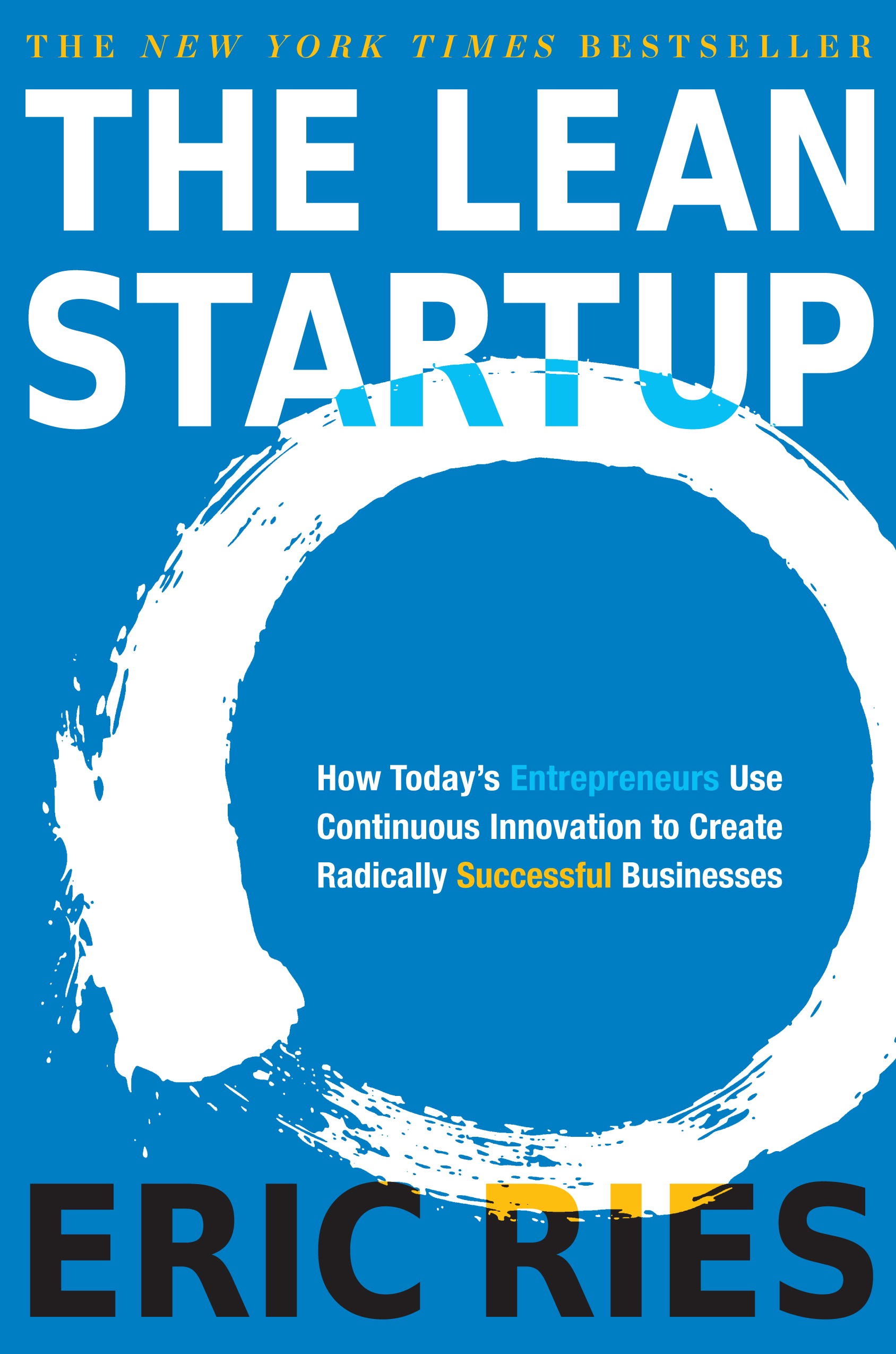 Book Cover of The Lean Startup