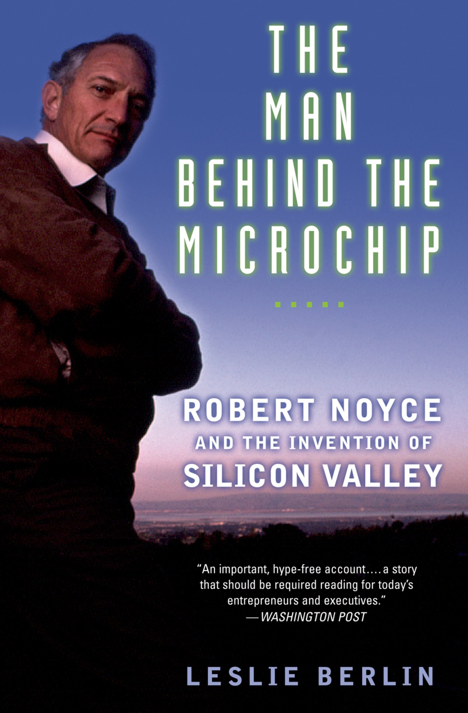 Book Cover of The Man Behind the Microchip