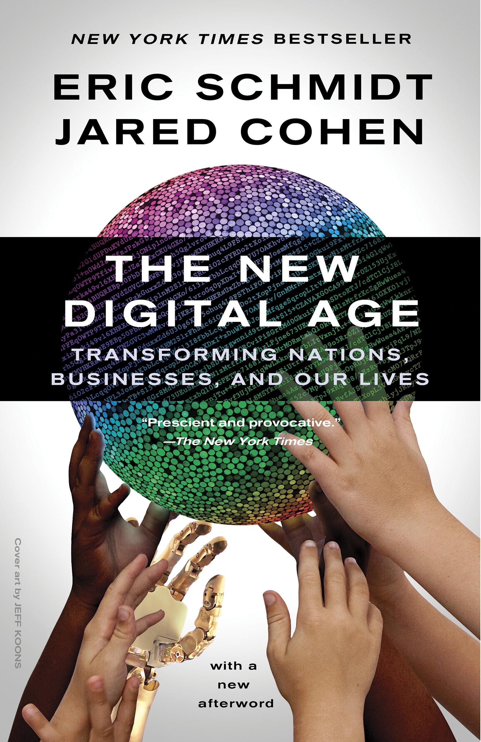 Book Cover of The New Digital Age