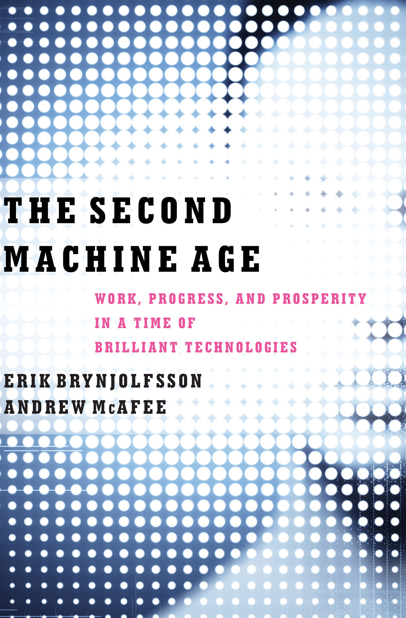 Book Cover of The Second Machine Age