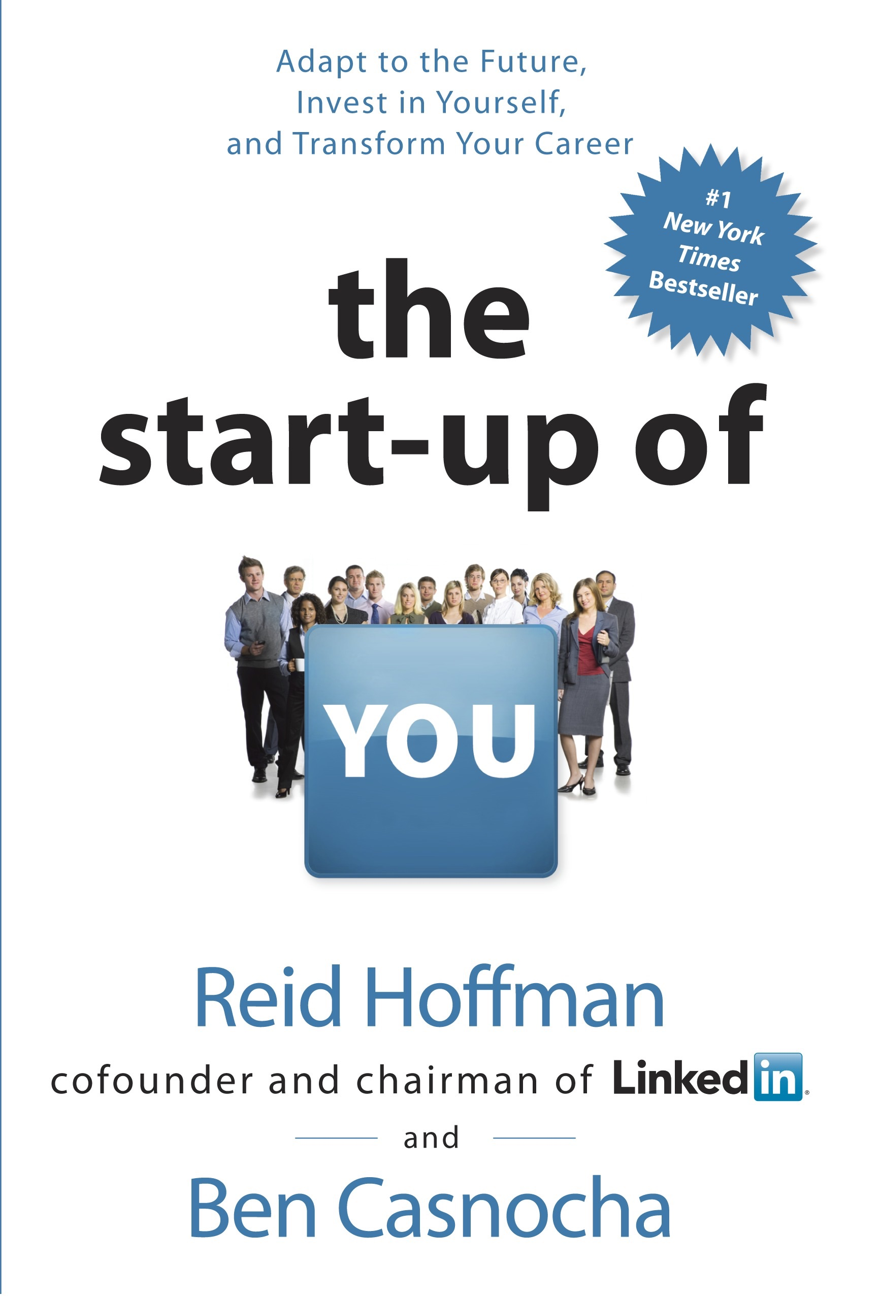 Book Cover of The Start-up of You