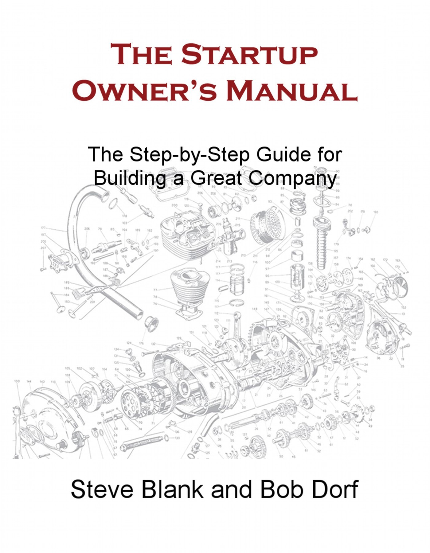 Book Cover of The Startup Owner's Manual
