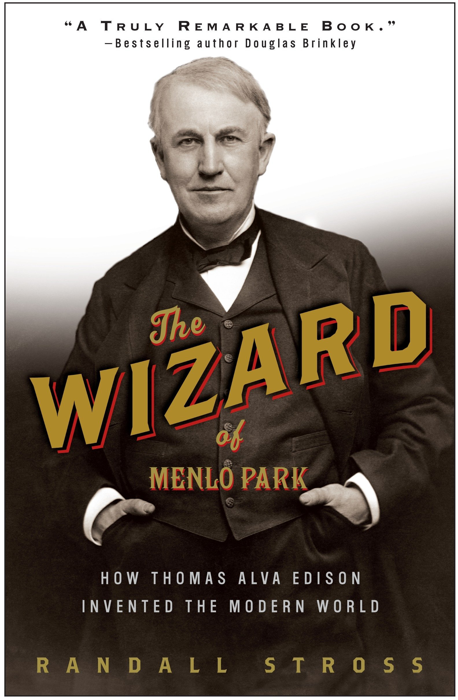 Book Cover of The Wizard of Menlo Park