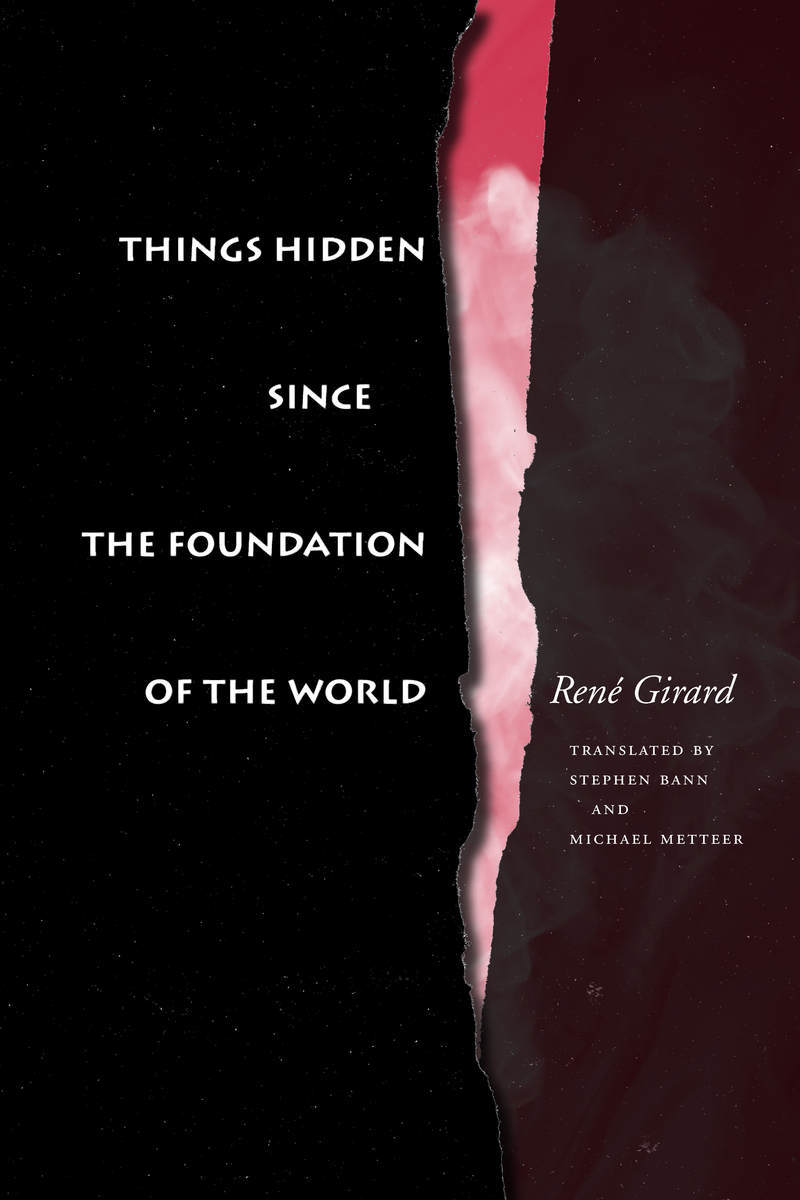 Book Cover of Things Hidden Since the Foundation of the World