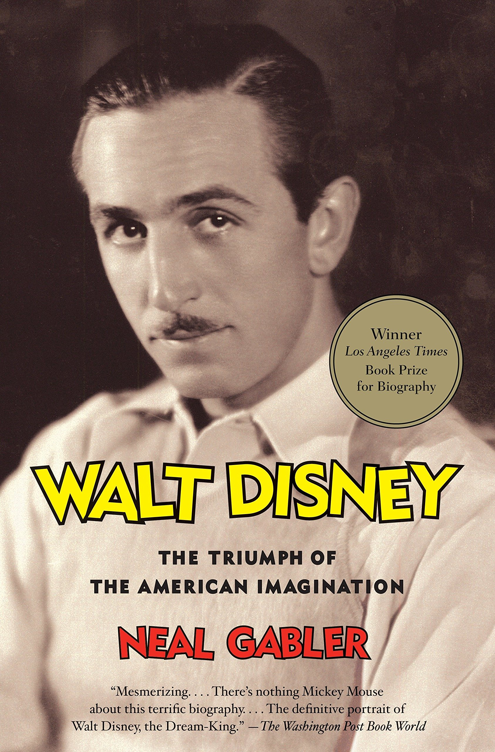 Book Cover of Walt Disney