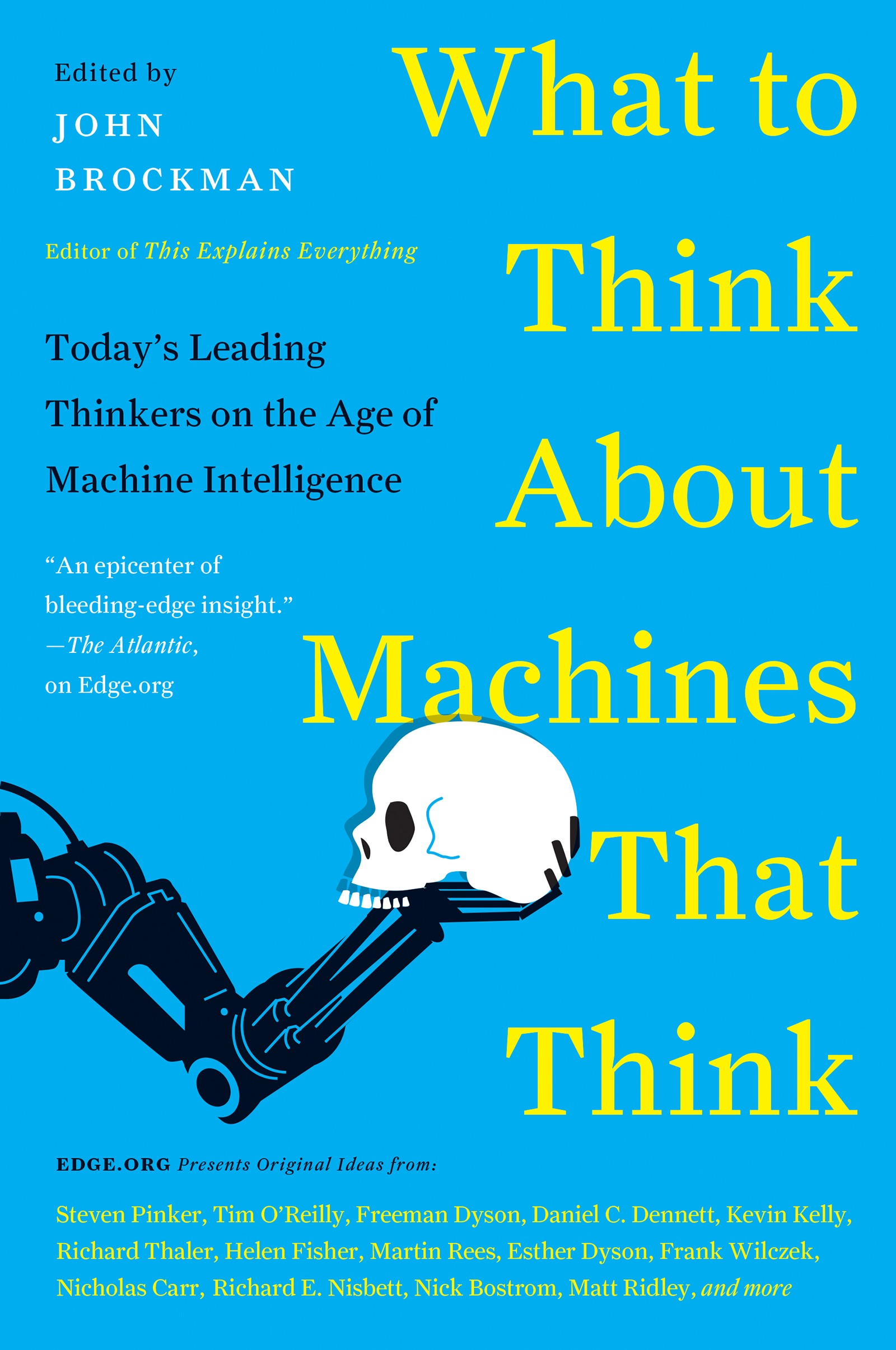 Book Cover of What to Think About Machines That Think