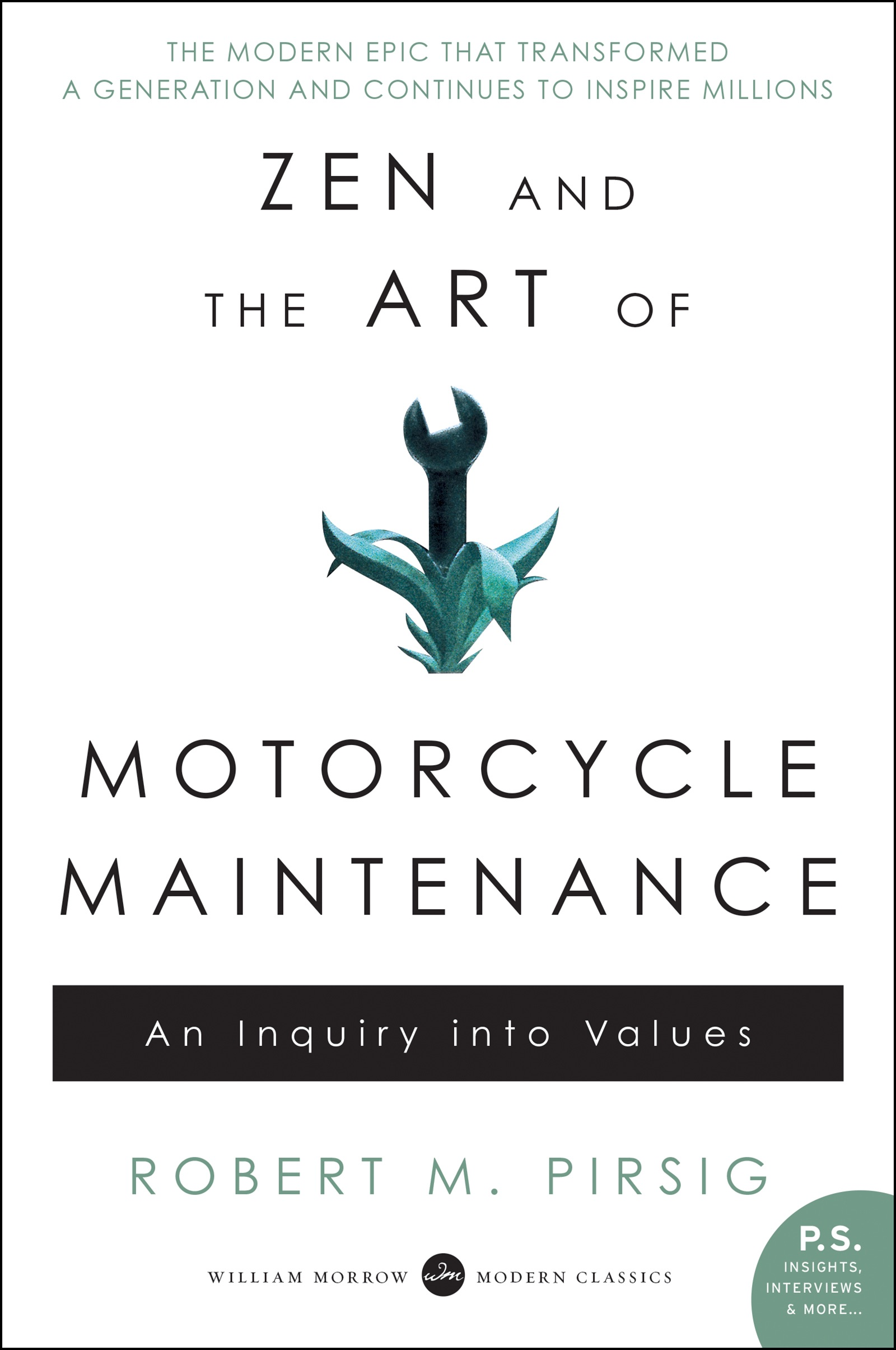 Book Cover of Zen and the Art of Motorcycle Maintenance