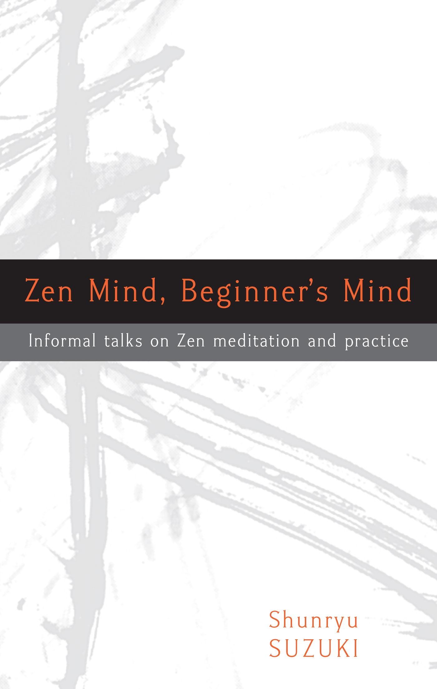 Book Cover of Zen Mind, Beginner's Mind