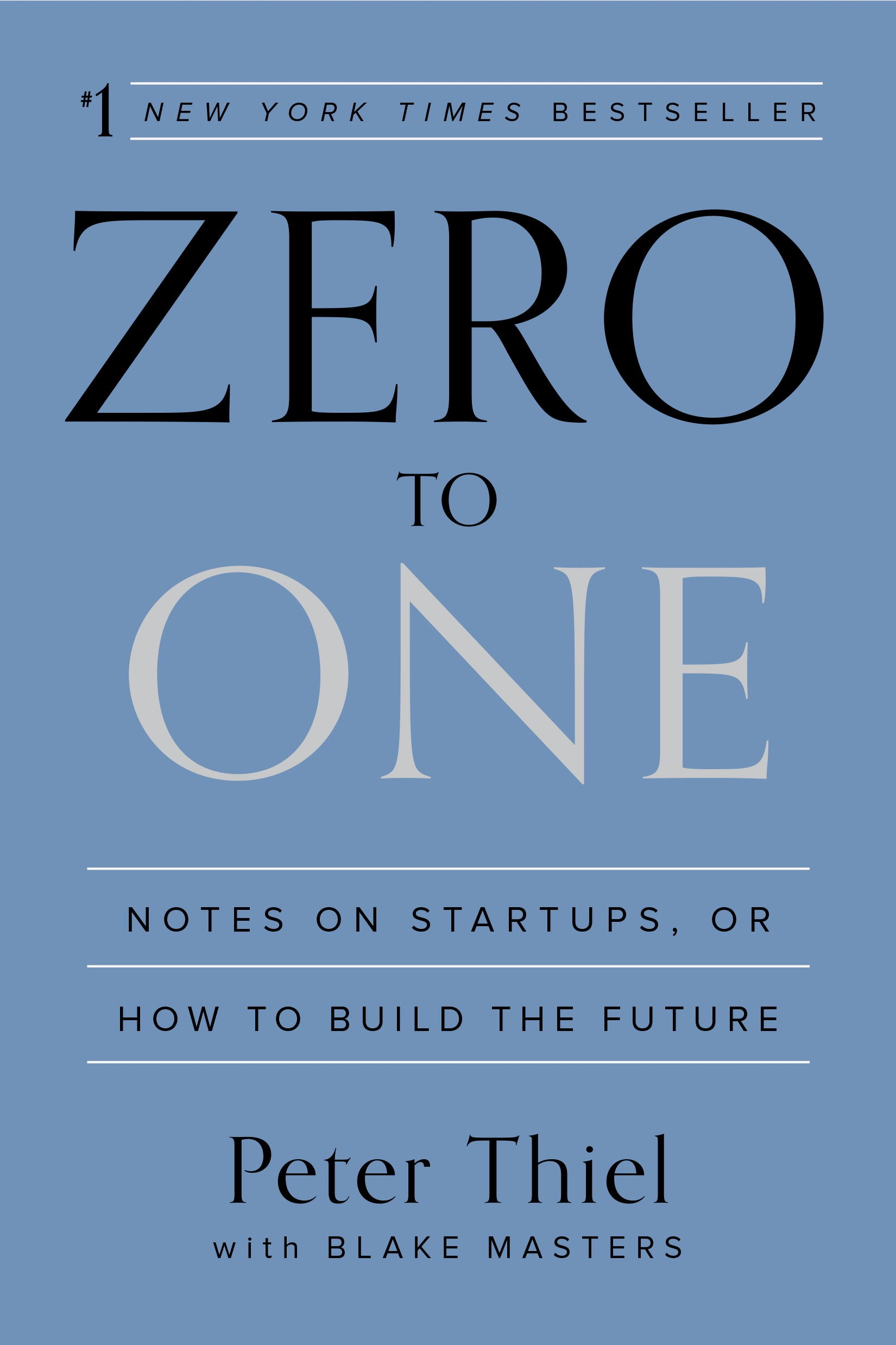 Book Cover of Zero to One