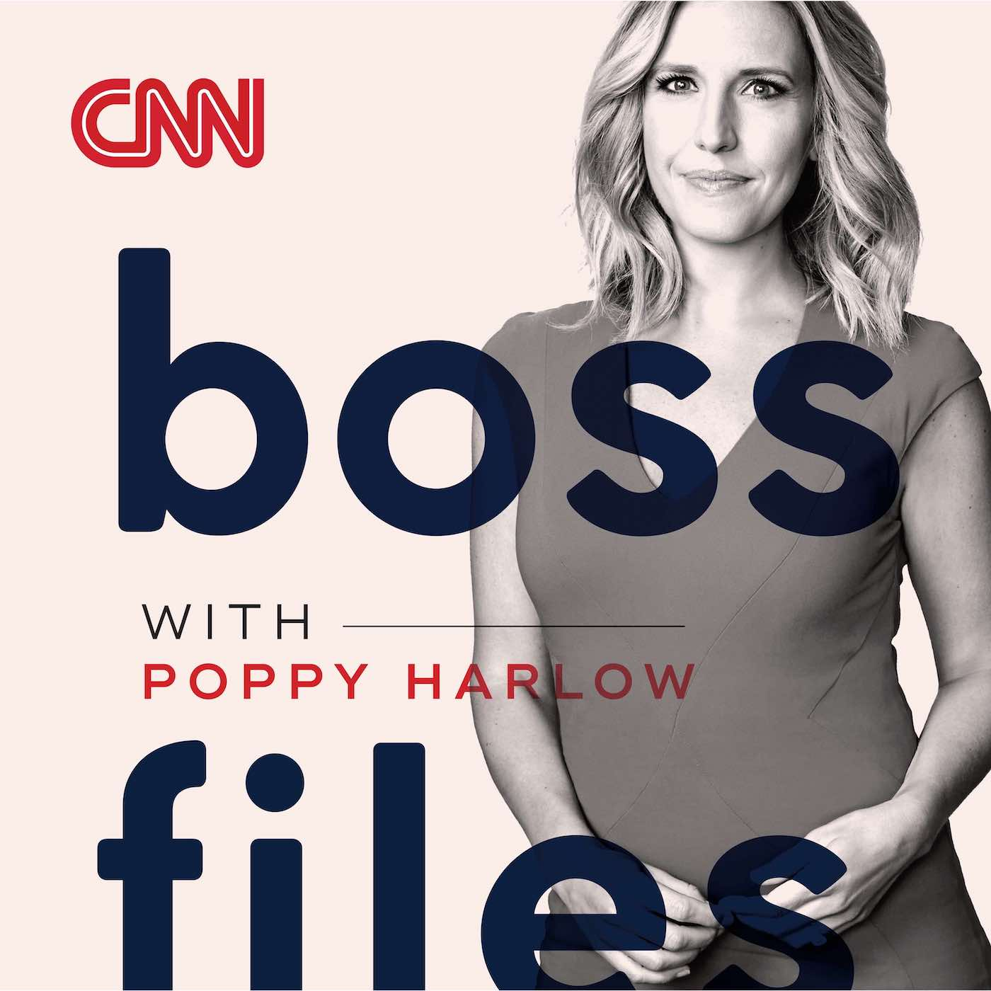 Podcast Cover of Boss Files with Poppy Harlow
