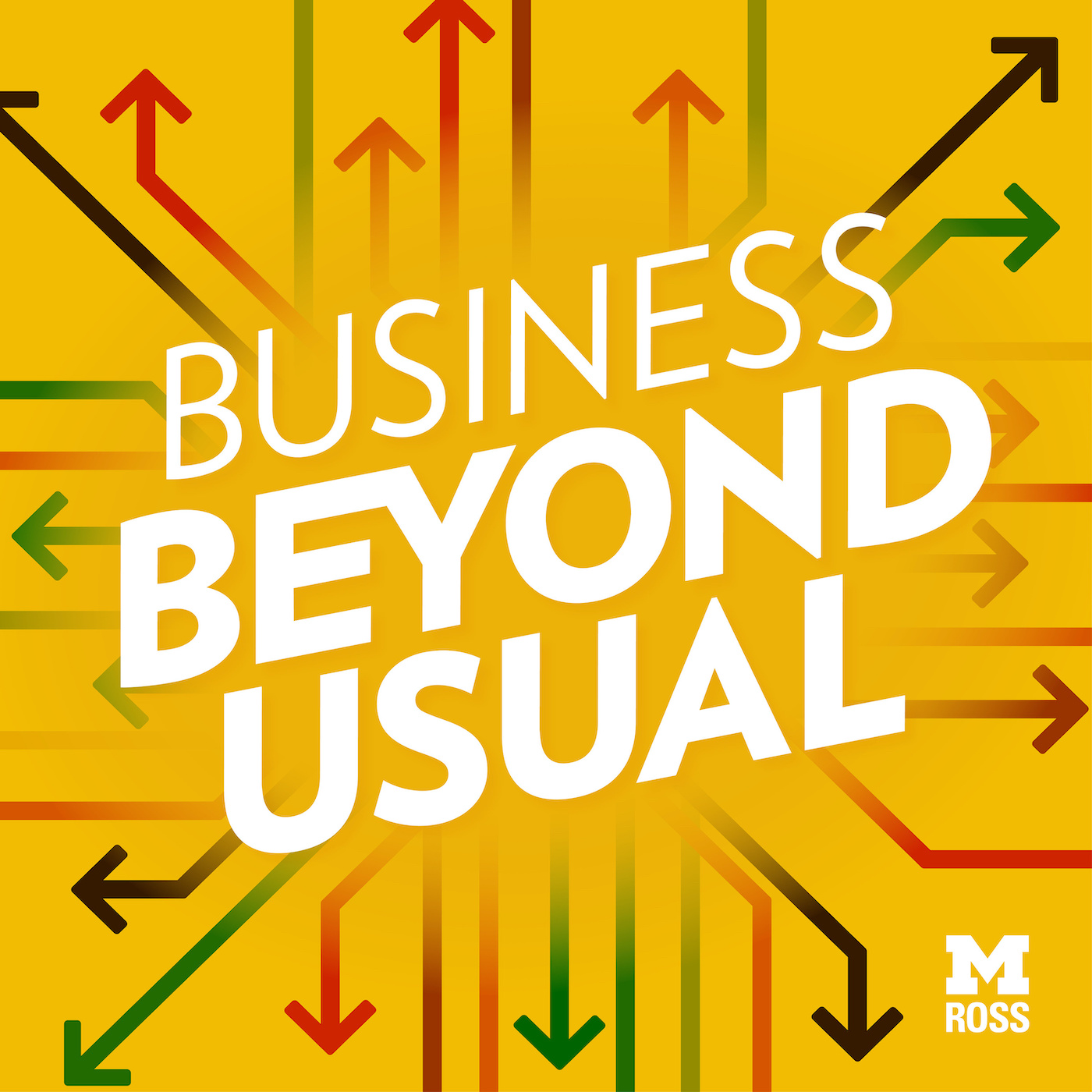 Podcast Cover of Business Beyond Usual